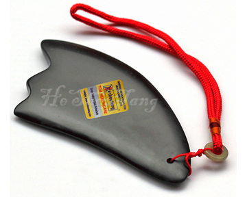Energy Black Stone Needle Scraping Plate