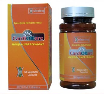 CardiOKare-Best Natural Product for Hypertension(20 Days Supply)